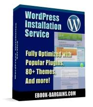 WordPress Install Service